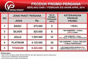 promo bonus produk untuk member