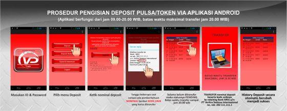 Prosedur Pembelian Deposit Via Andoid